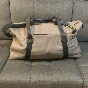 $498 LARGE Jake Spade Canvas Twill Duffle Bag